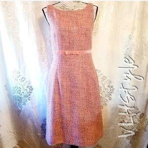 NWT GAP Retro Pink Tweed Dress